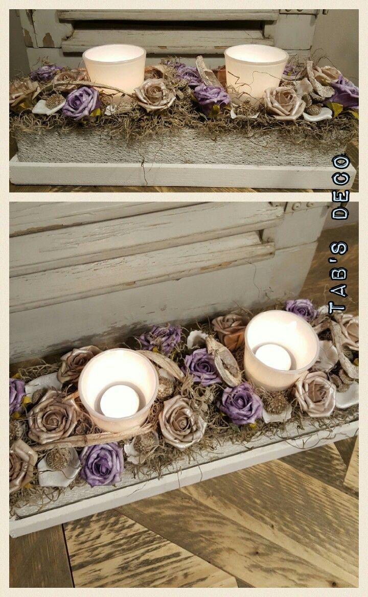 Mooie bloemencake, kan ook in andere kleuren!!