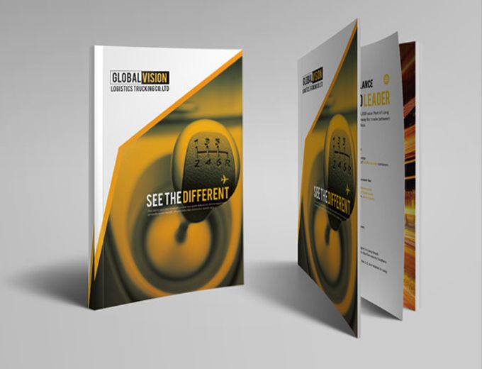 Best Corporate Images On   Brochure Layout Brochure