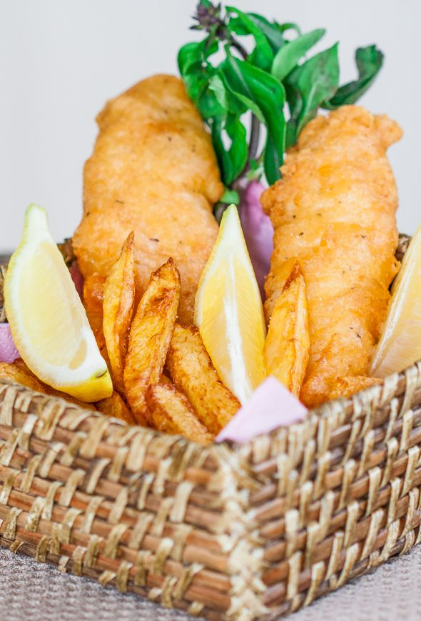Check out fish and chips it 39 s so easy to make homemade for Homemade fish fry