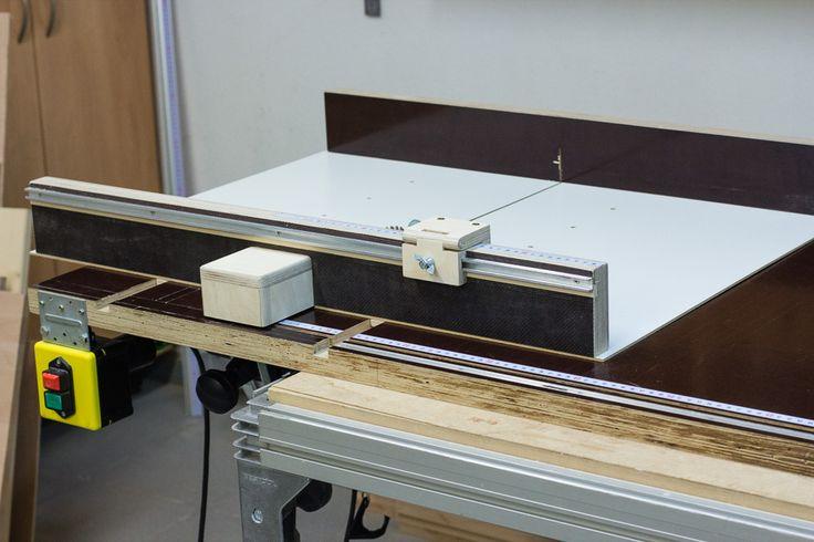 schiebeschlitten f r die tischkreiss ge maquinas herramientas pinterest. Black Bedroom Furniture Sets. Home Design Ideas