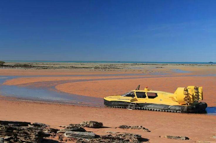 Broome hovercraft,  Western Australia by Amanda Paul