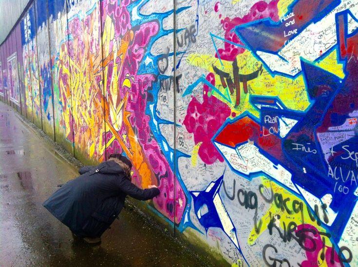Peace Wall Belfast Weekend Away