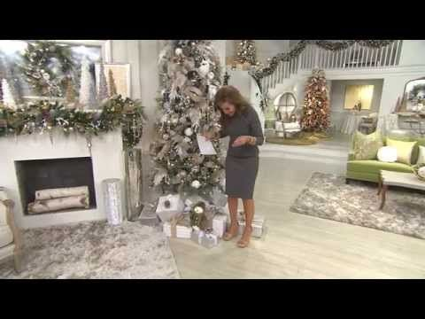 IDEAS on HOW to USE  Decorative PICKS in your CHRISTMAS DECORATING  with Lisa Robertson - YouTube