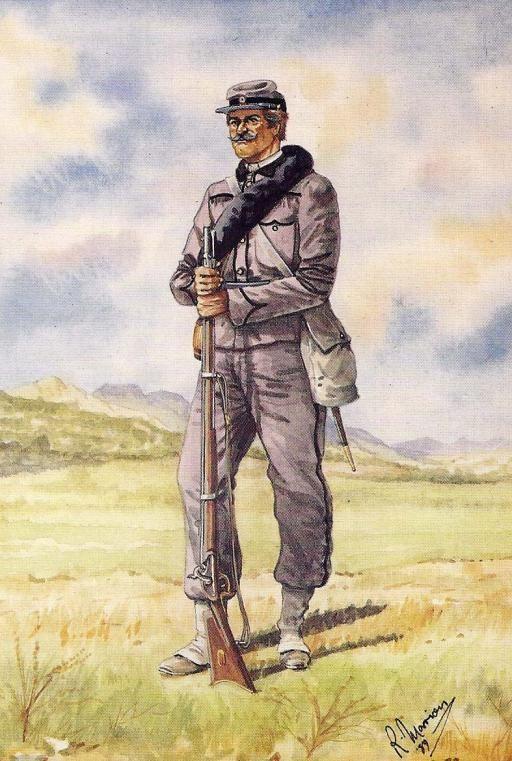 Garibaldini - Carabinieri Genovesi - 1869-70