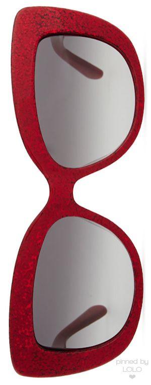 Kate Spade NY Ursula Glitter Cat Eye Sunglasses | LOLO❤︎
