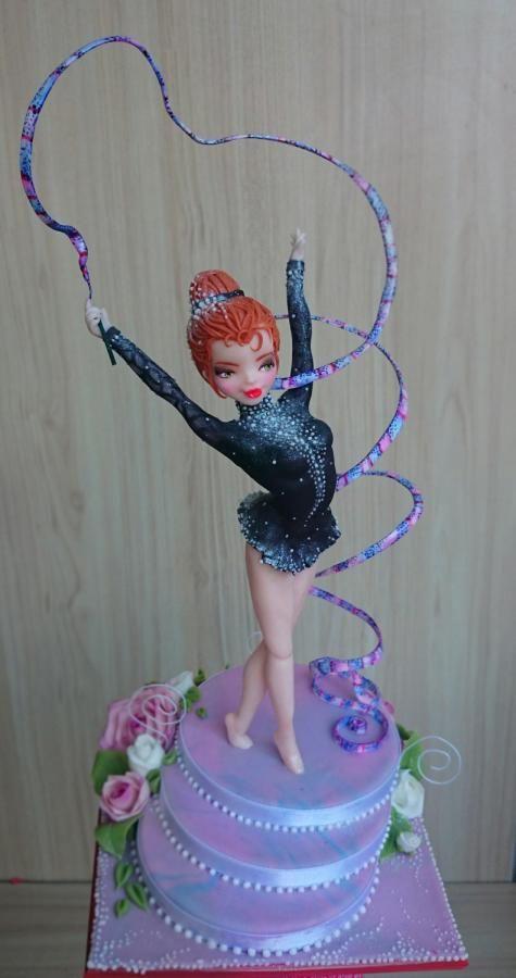 Rhythmic gymnastic by Emanuela
