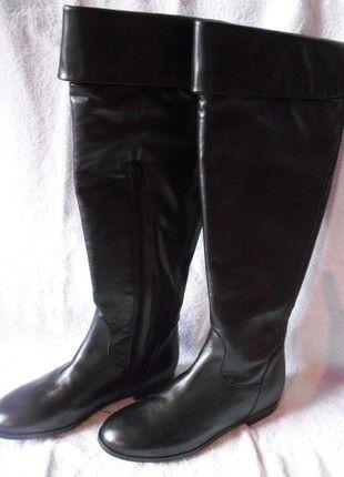 À vendre sur #vintedfrance ! http://www.vinted.fr/chaussures-femmes/bottes-and-bottines/24953421-175-eu-neuf-bottes-clarks-tout-cuir-cavalieres-taille-38-noir