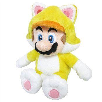 CAT MARIO PLUSH Direttamente da Super Mario 3D World, un morbidissimo peluche da 22 cm del mitico Mario con la scattante Tuta Gatto. Finiture di qualità, licenza ufficiale Nintendo. - Maggiori dettagli: http://www.thegameshop.it/it/peluche/554-nintendo-cat-mario-plush-22cm-3700789291800.html#sthash.9nCQef7X.dpuf
