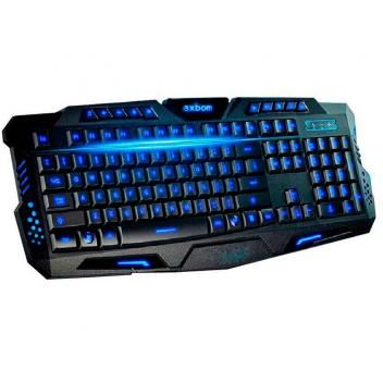 Teclado Gamer Com Fio Usb 3 cores Iluminação BkG35 63