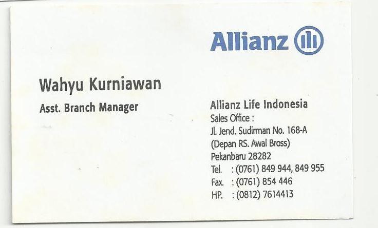 Allianz - Wahyu Kurniawan