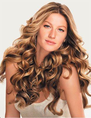 adoro todas as variações do cabelo da Gisele, ondulado, liso, preso, solto