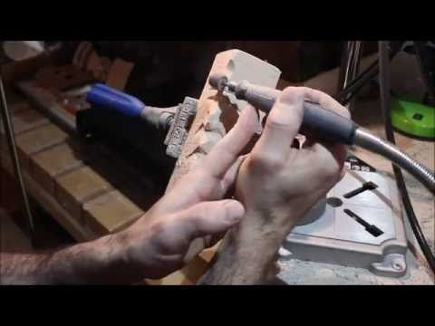 "Carving simple ""woodspirit"" with basic Dremel accessories. - YouTube"