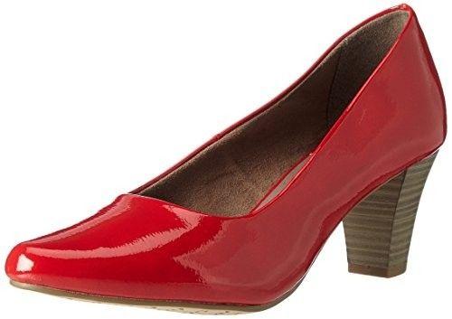 Zapato rojo mujer #Zapatosmujer #Mujer #Moda #Calzado #AmazonModa #Outfits #Fashion #Tacones #ModaOtoñoInvierno #shopping #style #zapatorojo