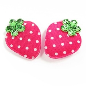 Pink Strawberry Bows for Princess Poppy