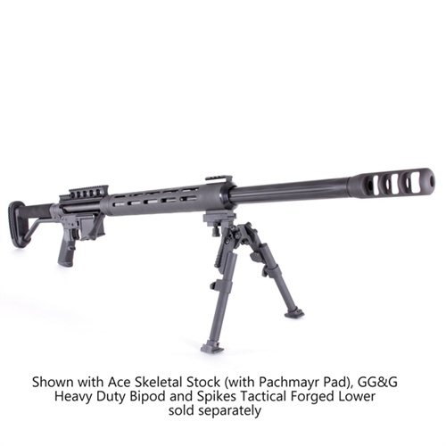 Spartan 50 BMG Upper Receiver for AR 15, available in .50 BMG, .416 Barrett and .338 Lapua  $1,598.00