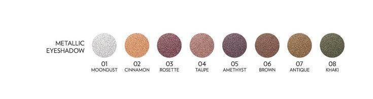 Golden Rose Metals Metallic Eye shadow