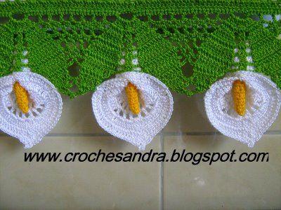 CROCHETANDO: copo de leite. ♪ ♪ ... #inspiration_crochet #diy GB