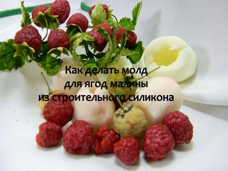 молд для ягод малины