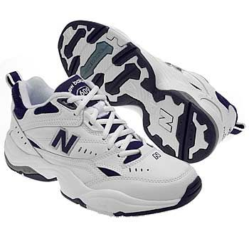 Athletics New Balance Women's W 609 Narrow/Med/Wide White/Navy