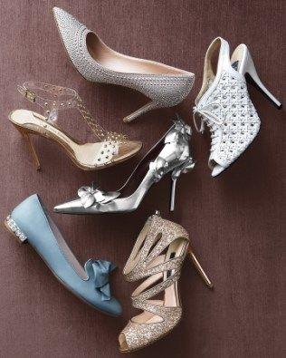 Εντυπωσιακά νυφικά παπούτσια