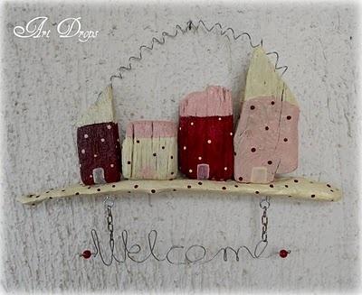woodWall Art, Creative Ideas, Driftwood Seashells Crafts, Kućic Dobrodošlic, Ovo Je, Reclame Wood, Pebble Art, Crafty Ideas, Art Drop