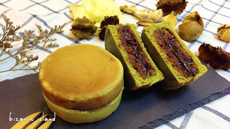 #Matcha Imagawayaki w/ Chocolate French #Macaron