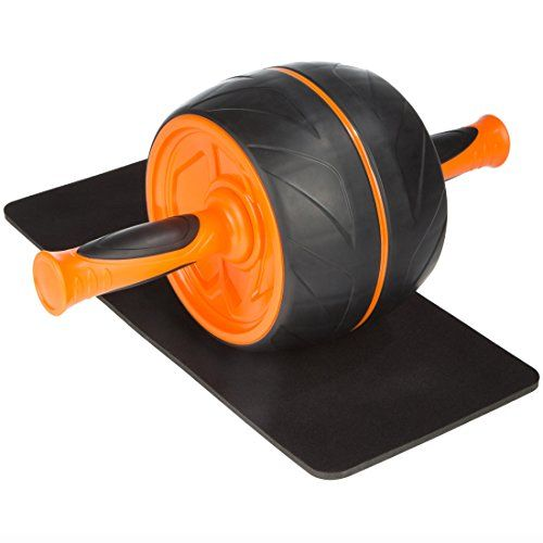 Ultega AB Roller - premium abdominal training incl. floor pad and workout instructions >>> Click on the image for additional details.