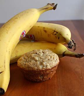 Banana Protein Muffins Recipe by PINKZEPPELIN86