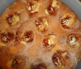 Zemetkuche : gâteau à la cannelle