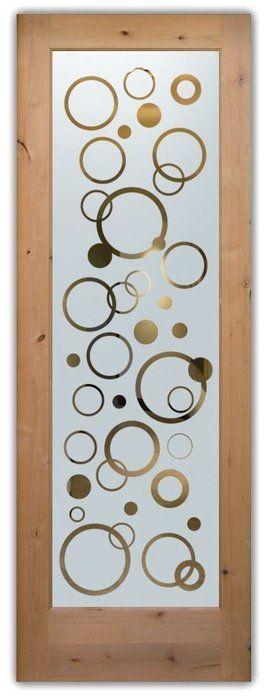 Adesivo jateado bolhas  215x100 cm (para portas de 50 a 100 cm de largura)