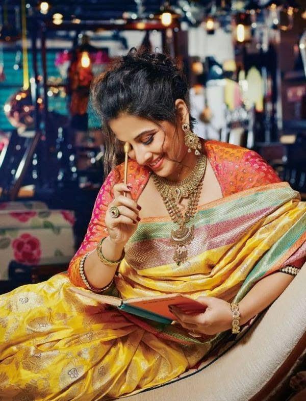 Vidya Balan as Bride on the cover of Hi! Blitz ~ Hottest News 99