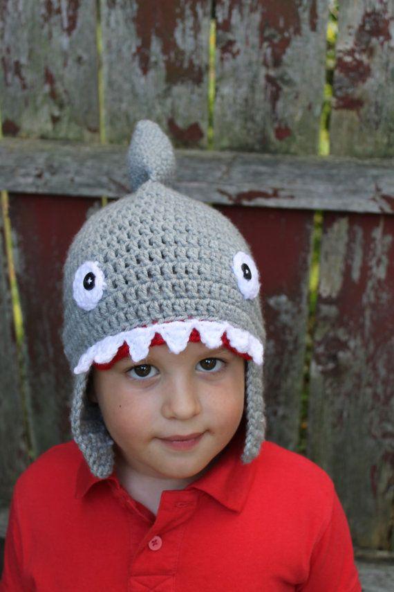 Shark Hat Shark Costume Toddler Shark Costume Shark by MollyChic