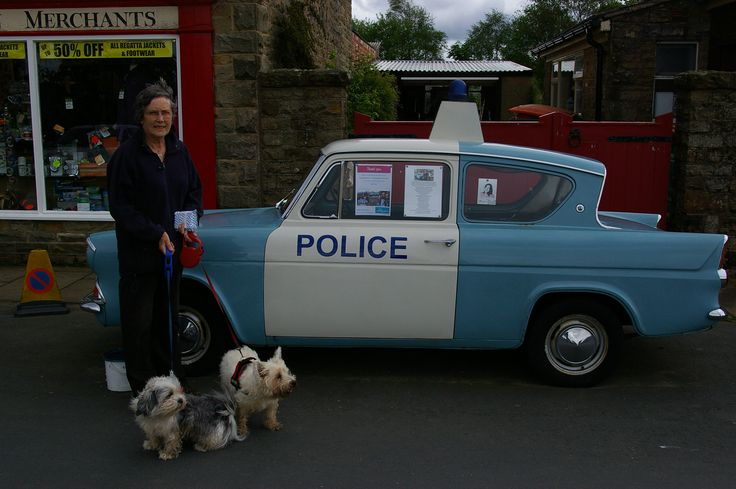 2014 - Goathland, North Yorkshire. The police car as used in 'Heartbeat'.