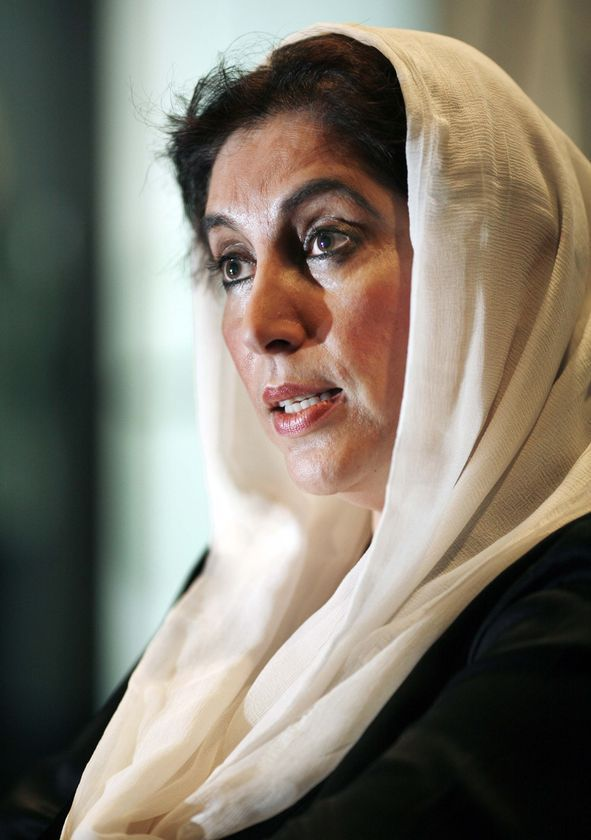 Benazir Bhutto, former Prime Minister of Pakistan, assinated 2007. Great loss to the people of that Country.