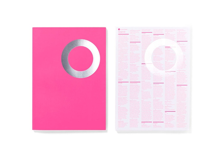 issue of Circular, the magazine of the Typographic Circle. Designed by Domenic Lippa and his team.Colors Design, Art Design, Graphics Design, Image, Pink, Mise En, Nice Design