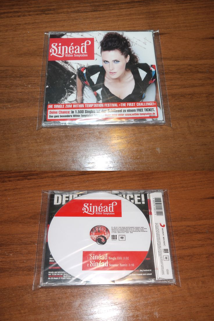 Within Temptation - Sinead (slim case 2 tr with free ticket) (2011 BMG)