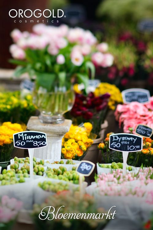 OROGOLD reviews the charms of Bloemenmarkt.