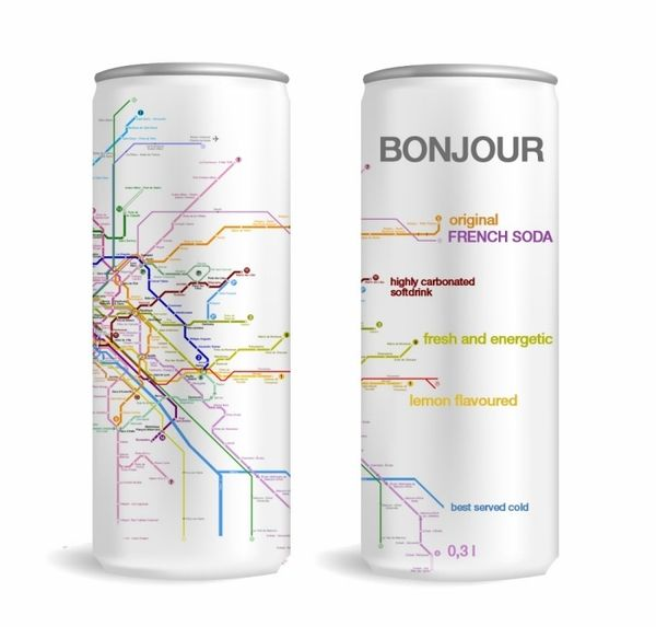 When visiting a new city, put maps & vital info on outside of water bottle. Saves you from always checking your phone