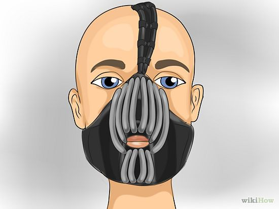 3 Ways to Make a Bane Mask - wikiHow