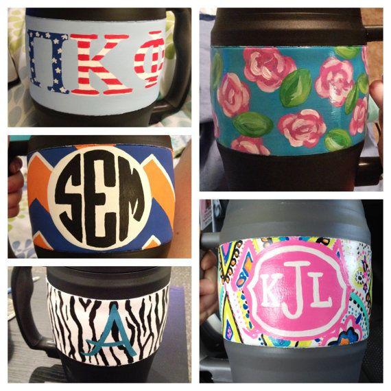 Custom Personalized 52 oz Bubba Keg by PaintTheTownChiv on Etsy, $30.00