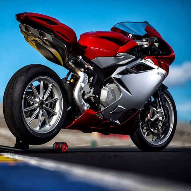 2013 mv augusta no one has a better tail section.
