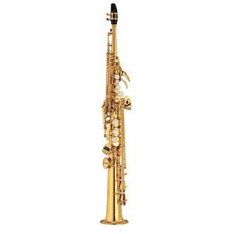 YSS475II Soprano Saxophone. These are designed for an easy transition between alto/tenor saxophones and soprano. Featuring excellent response, tone and intonation to ensure confident performances as soon as possible.