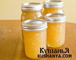 Варенье из груш с бананами   Kushanya.Com