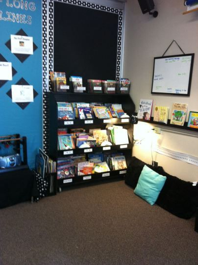 Classroom Decor Research ~ Office set up library corner classroom decor and