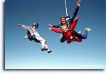 Sky Diving is my wish in my lifetime ....if i can find someone brave enough to go with. :/