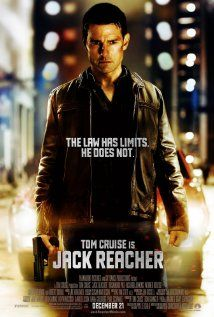 Jack Reacher (2012) A homicide investigator digs deeper into a case involving a trained military sniper who shot five random victims.Stars: Tom Cruise, Rosamund Pike and Richard Jenkins Jack Reacher is a 2012 American thriller film. It is an adaptation of Lee Child's 2005 novel One Shot. Written and directed by Christopher McQuarrie, the film stars Tom Cruise as the title character