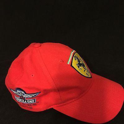 Ferrari F1 2002 SAP USA Grand Prix Baseball Ball Cap Hat Formula One 1