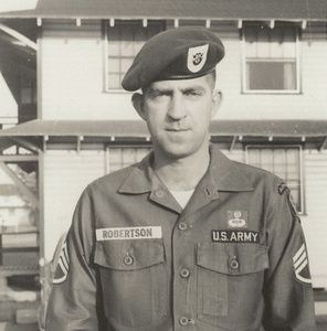 "U.S. soldier missing 44 years reunites with family - U.S. Special Forces Green Beret Master Sgt. John Hartley Robertson was shot down over Laos in 1968 and later considered ""killed in action."" He had forgotten how to speak English over the 44 years since he was left behind in the Vietnam War."