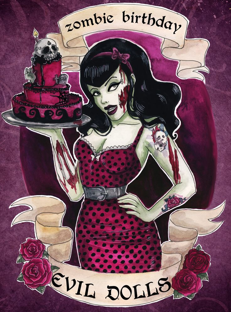 Zombie Pin up girls