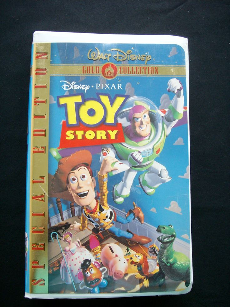 Disney Classic: Toy Story(VHS, 2000, Special Edition ...